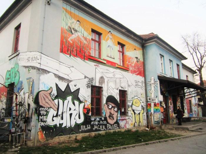 Metelkova in Ljubljana, Slovenia