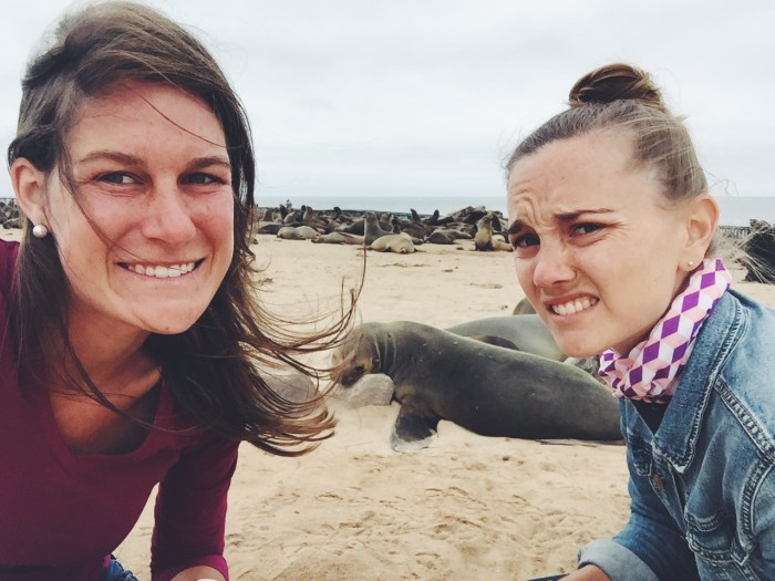 The Skeleton Coast, Namibia-- Did you know that seal colonies smell TERRIBLE?