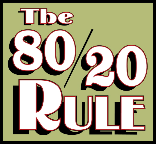 Life Hacks - the 80/20 rule - work tips
