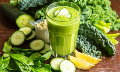 Alkaline Diet Green Smoothie