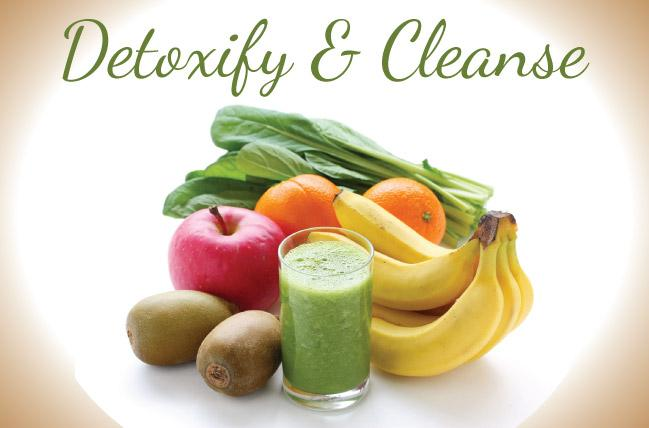 detox and cleanse