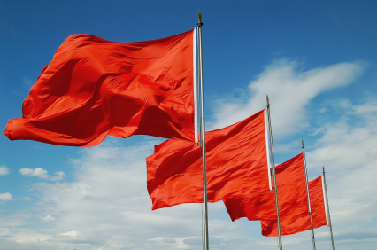 Dating Tips - Red Flags