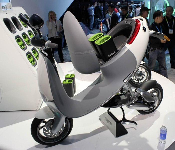 The Gogoro battery-swapping Smartscooter