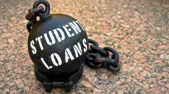 student-loans-ball-chain