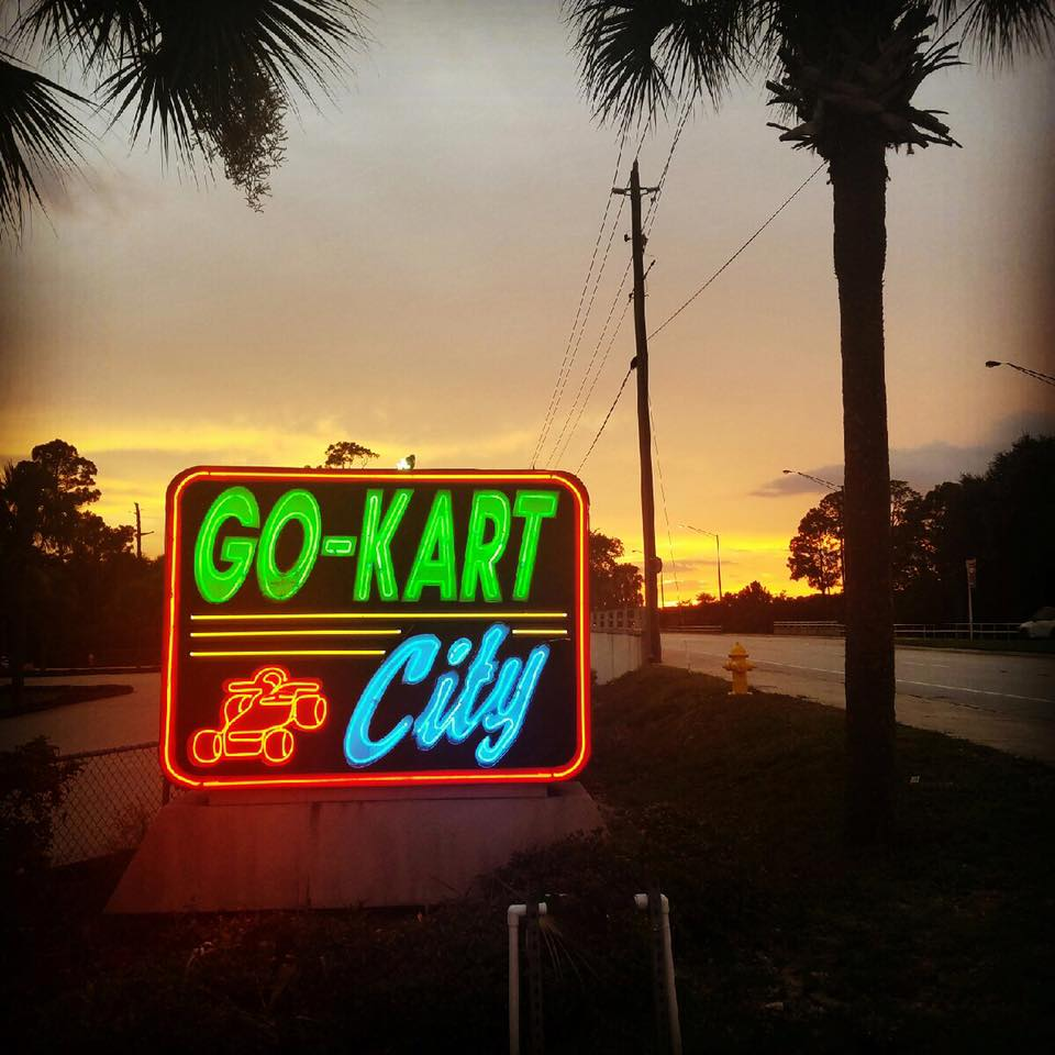 Go Kart City The Largest Go Kart Track In Port Orange
