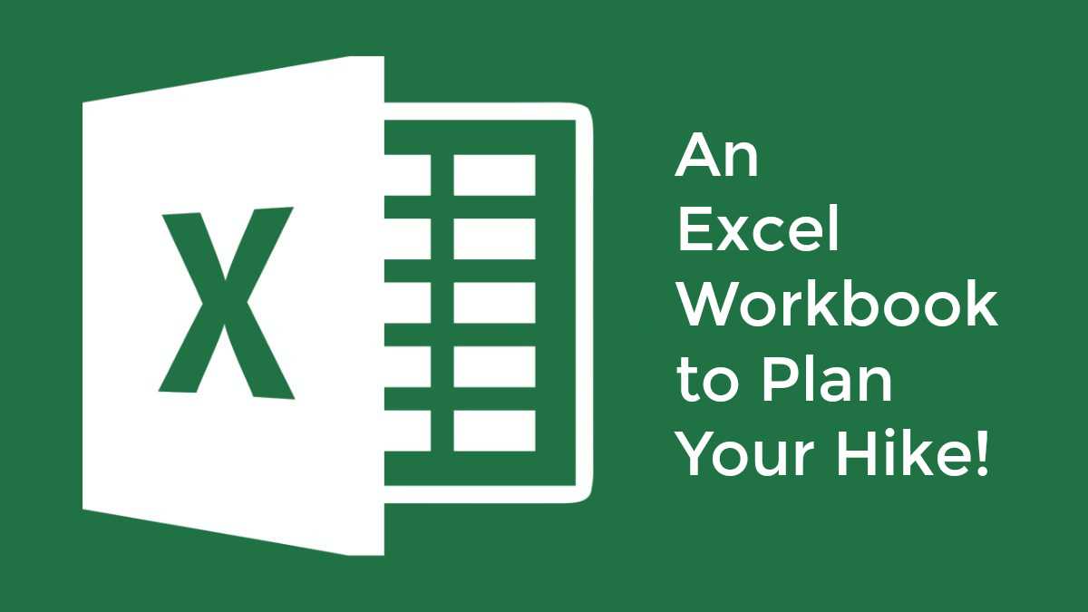 Planning a thru-hike on the John Muir Trail (or any other trail)? Use this Excel workbook as a tool to organize and keep track of everything!