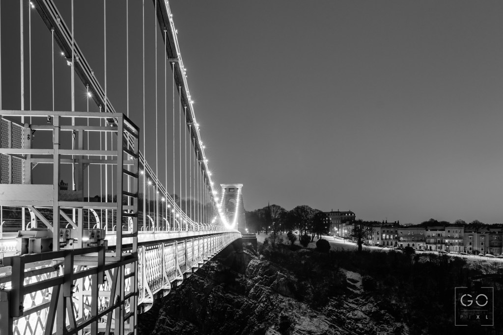 Clifton Suspension Bridge from Leigh Woods
