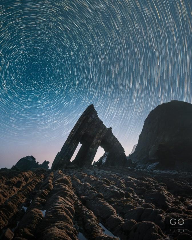 BlackRock Church Star trails