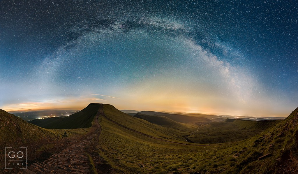 Milky Way above Pen Y Fan