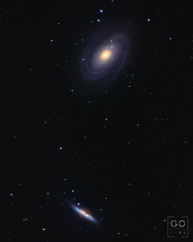 Bode's and Cigar Galaxies