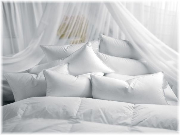 Image result for beautiful bed with lots of pillows and covers