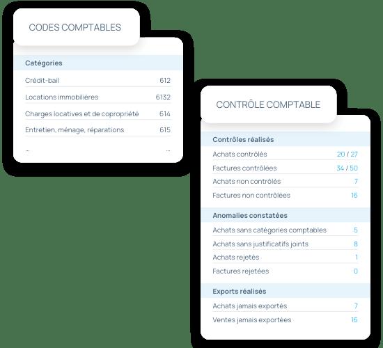 Collaboration avec expert-comptable : Codes et contrôles comptables
