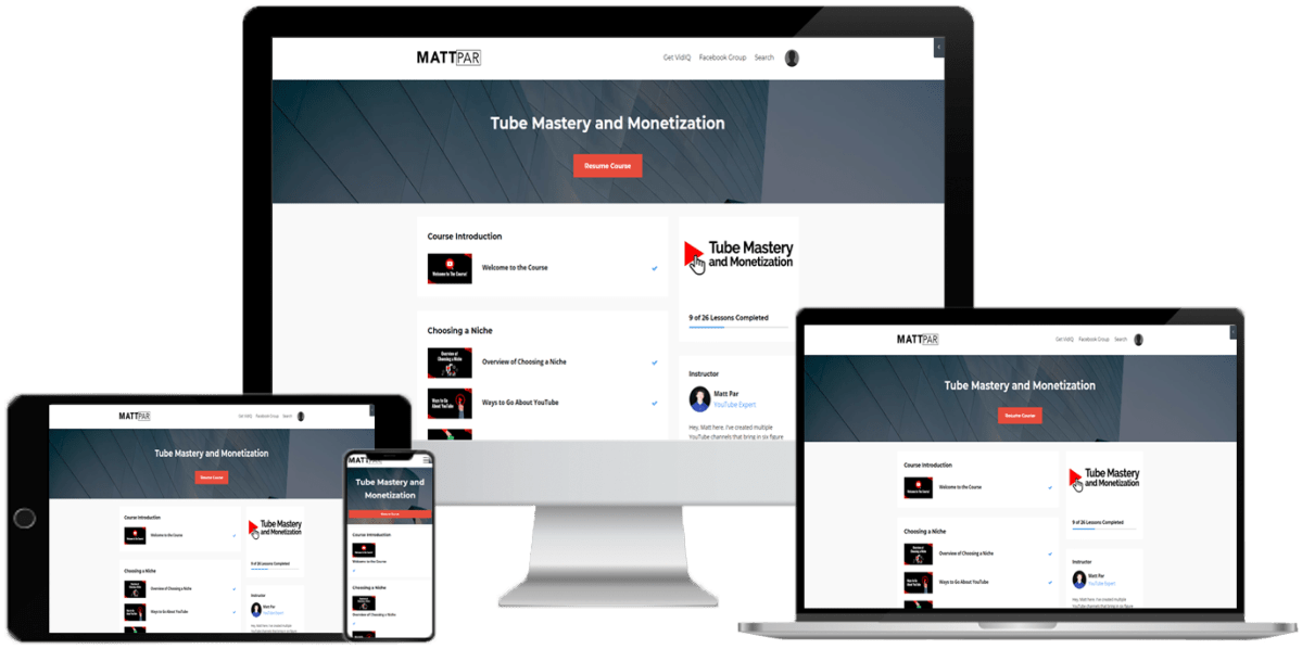 (Instant GB) Tube Mastery and MONETIZATION - WSO Downloads 9