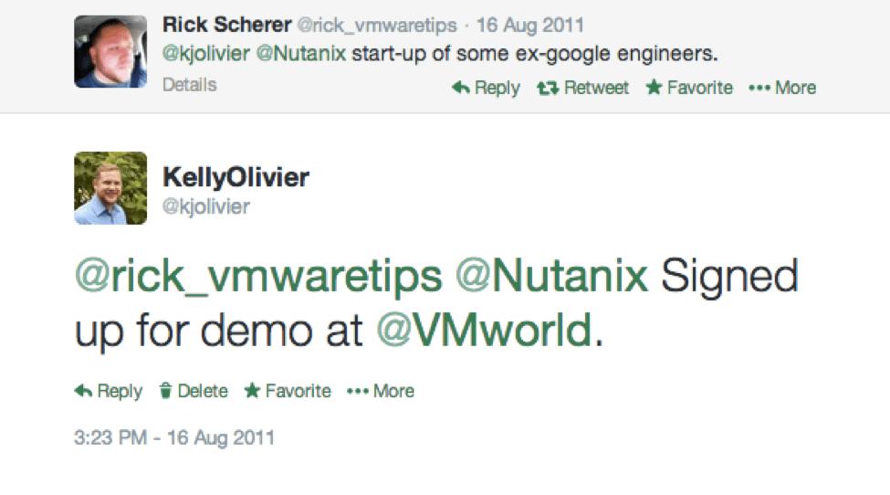 Признания первого клиента Nutanix
