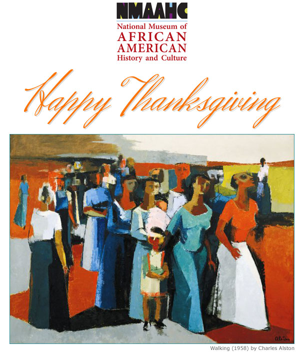 NMAAHC -- National Museum of African American History and Culture -- Happy Thanksgiving