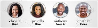Tony and Lois Evans' Four Grown Children, Chrystal, Priscilla, Anthony Jr. and Jonathan, to Host Live-streaming Worship Event on March 28 Amidst Coronavirus Crisis Which Has Caused Churchgoers to Cease From Physically Meeting
