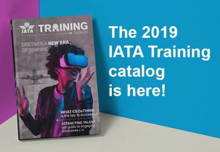 The 2019 IATA Training Catalog is here!
