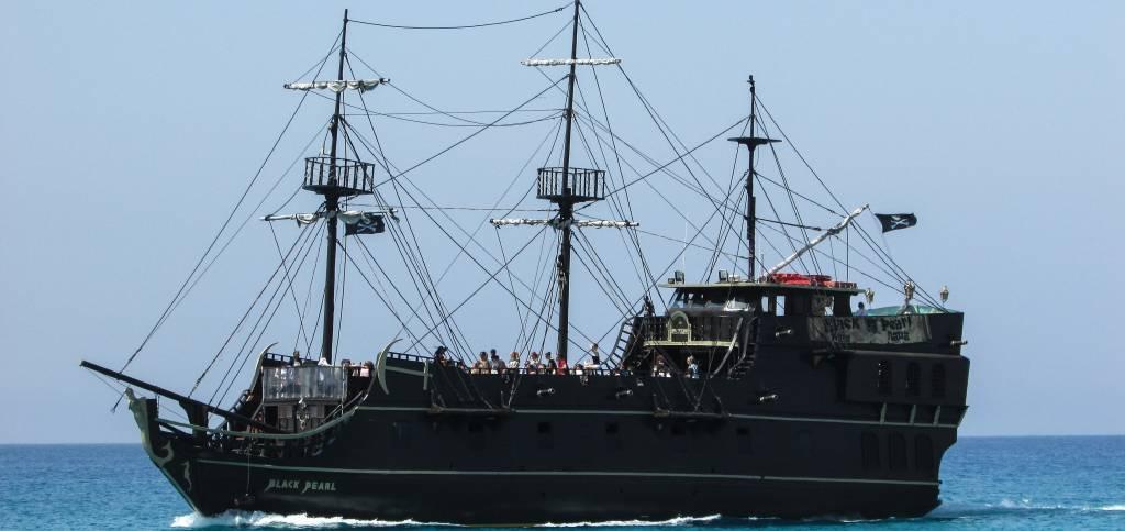 Gasparilla Pirate Ship Arrest and Defend