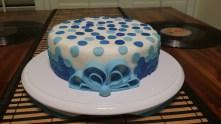 Circles Cake - Detail