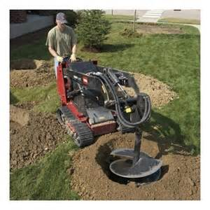 Gas Compact Loader Auger Attachment Rental - Effingham Builders Supply Rental Center