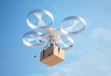 drónos házhozszállítás Izraelben