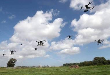 izraeli drón kisérlet