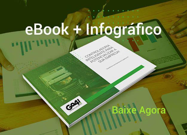 Ebook + Infográfico Grátis - Uso da Controladoria Inteligente em Logística e Transportes - Go4! Consultoria de Negócios