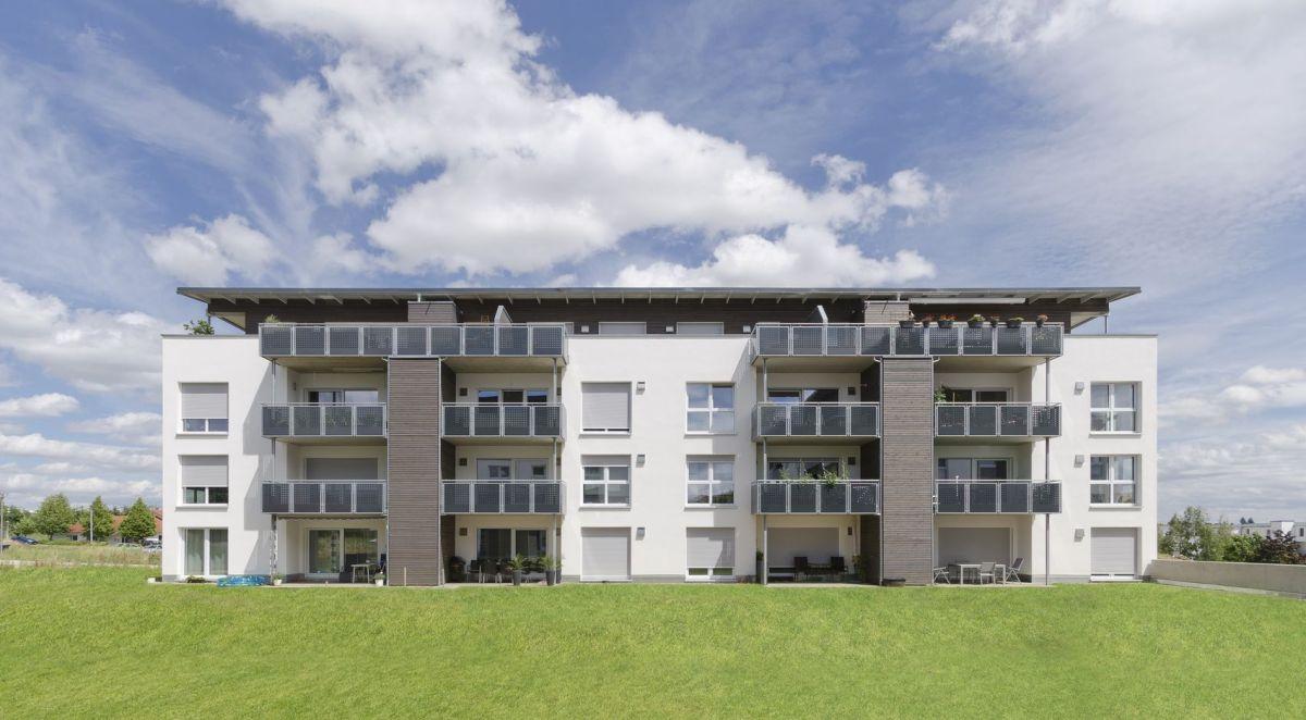 Neubau Mehrfamilien Haus Holzbau Ginter