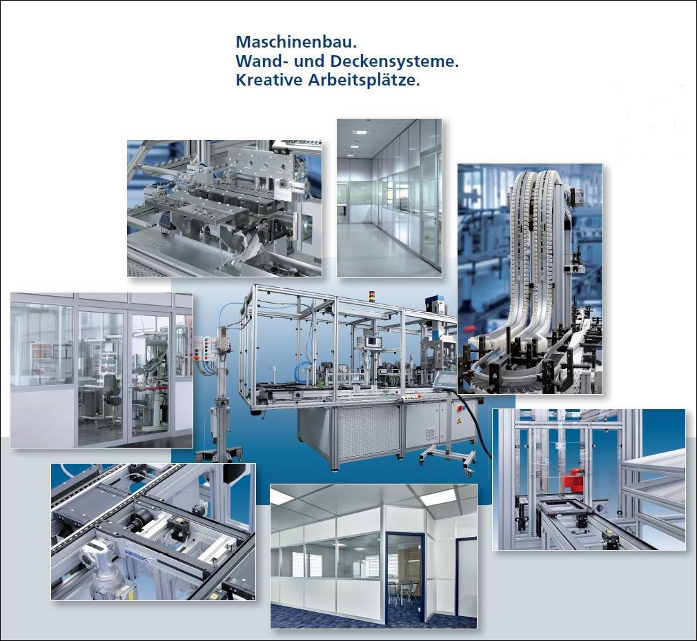 teamtechnik Industrieausrüstung GmbH - Produkte mit schwarzem Rahmen