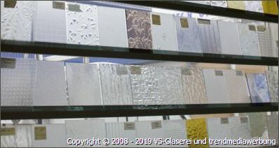 Große Auswahl an wunderschönen Glasdesigns