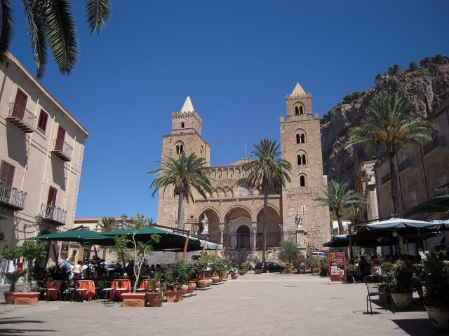 An image of Cefalu, a city in Italy