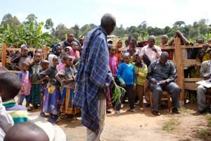 Global Partners Well Project Elder Speaking