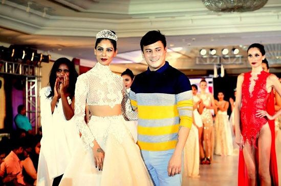 69400f7c207 Bollywood hunk Thakur Anoop Singh and India's only plus size transgender  model Dr. Mona Varonica Campbell set the ramp on fire. India Intimate Fashion  Week ...