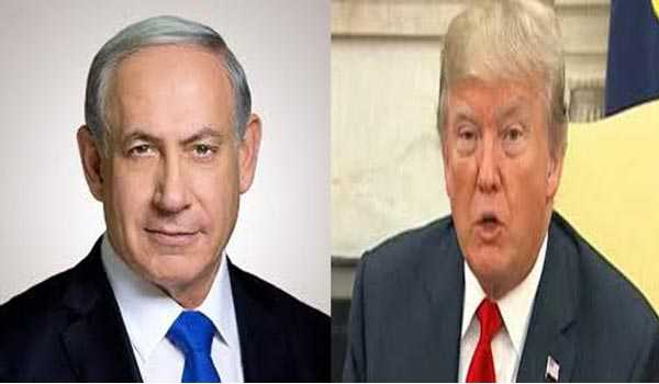 Netanyahu in U.S. with Golan Heights recognition on tap