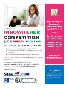 InnvoateHer competition on 11/17/2015