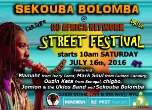 Music Go Africa Network Street Festival 2016 4-16-2016