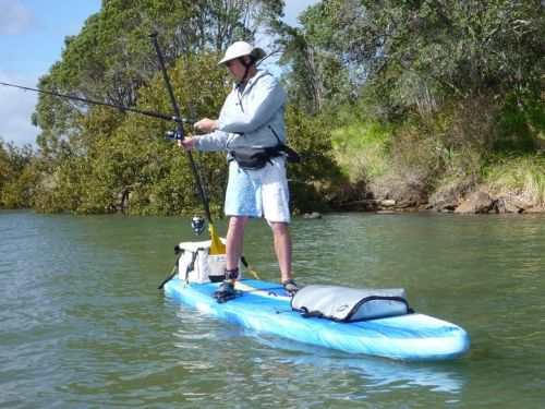Explorer as a fishing platform.
