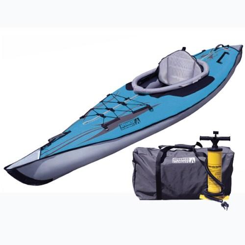 AdvancedFrame DS Series inflatable kayak with high pressure floor