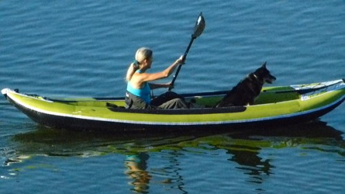 The Cayman III is also great for two paddlers - with plenty of room leftover.
