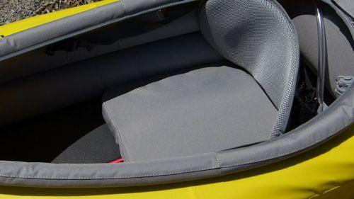 Padded seat