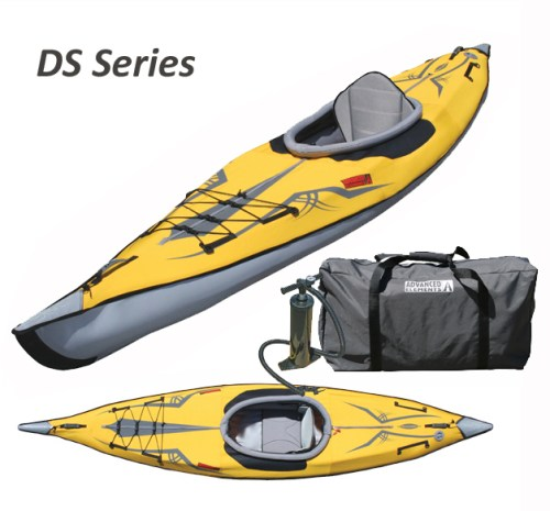 New Expedition DS Series Inflatable Kayak
