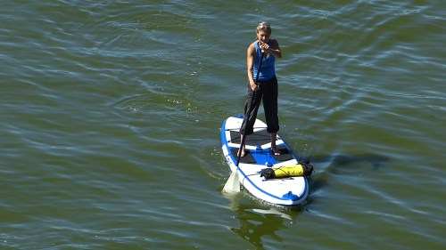 Airis SUV 11 inflatable SUP on the water