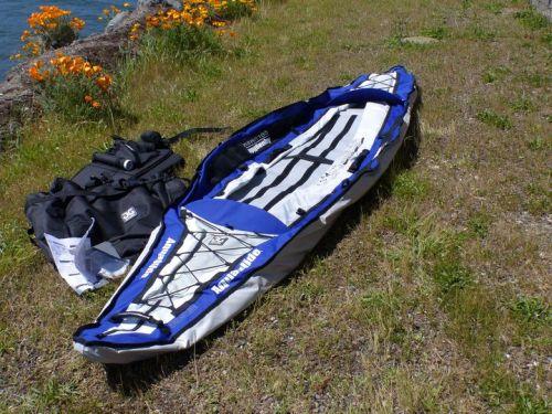 Unfold the kayak body.