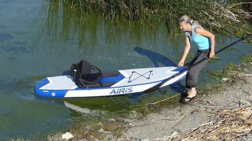 The Airis Stubby 9 is easy to launch.