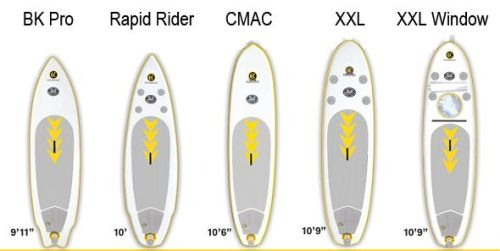 C4 Waterman Inflatable SUP lineup for 2014/2015