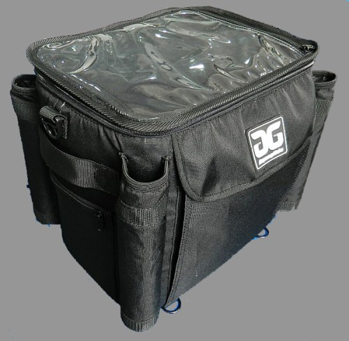 Included utility bag for cooler or dry storage.