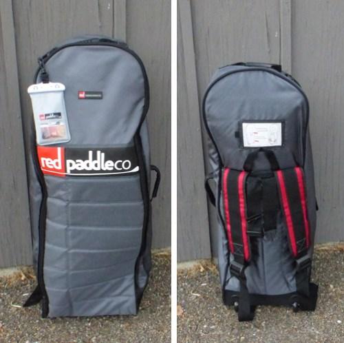 Roller back pack