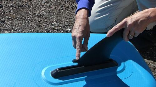 Installing the Red Air tracking fin