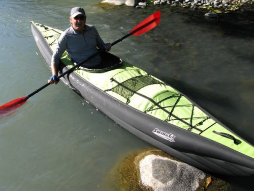 Innova Swing EX on the water.