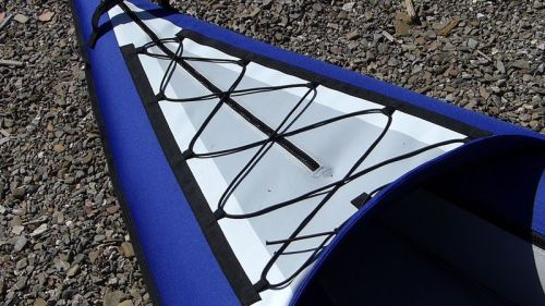 AquGlide Columbia XP Tandem front deck lacing